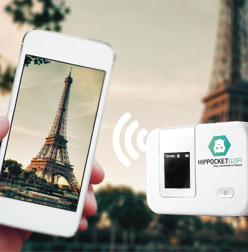 Borne wifi portable en location a l'hotel d'orsay paris