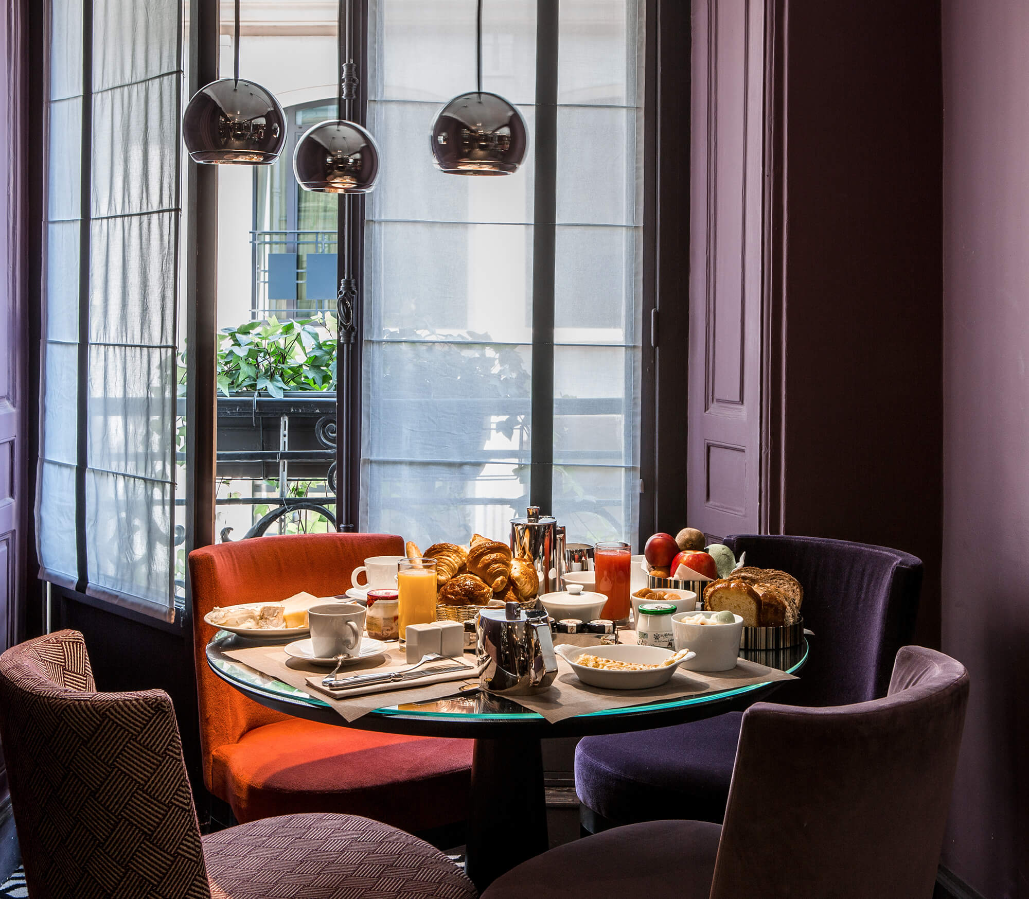 Hotel breakfast at Hotel Mansart Paris Vendome Opera