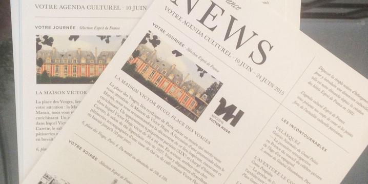Lettre culturelle de l'Hôtel d'Orsay Paris