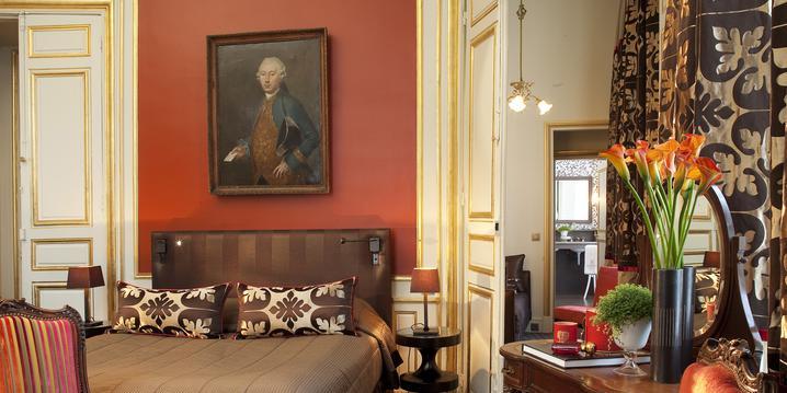 Une Suite Junior Mansart à l'Hôtel Mansart