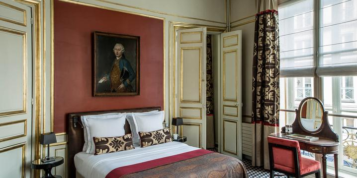 Luxury room Hotel Mansart Paris Vendome Opera