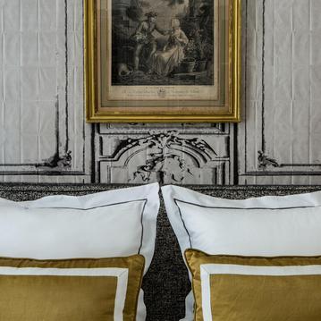 Une chambre Classique Cosy à l'Hôtel Mansart
