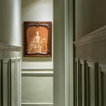 L'art dans les espaces communs à l'Hôtel Mansart