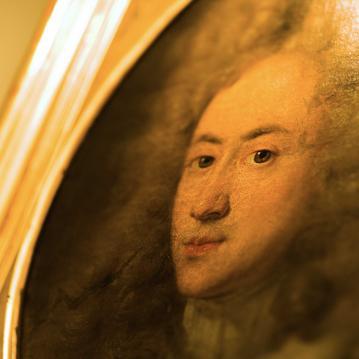 Le portrait de Mansart à l'Hôtel Mansart