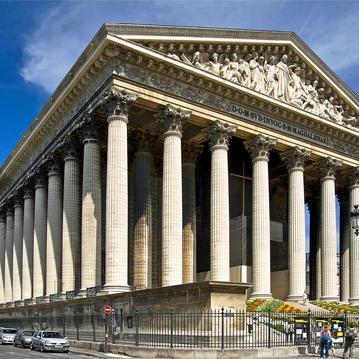 L'eglise de la madeleine à paris - Hôtel Mansart paris