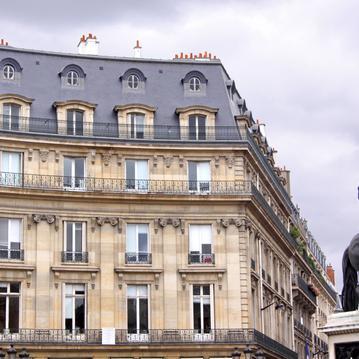 La Place des Victoires - Hôtel des Saints Pères